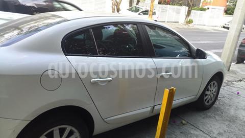 Renault Fluence Expression CVT usado (2011) color Blanco precio $80,000