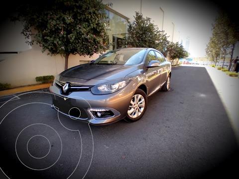 Renault Fluence Expression CVT usado (2017) color Gris Tormenta precio $170,000
