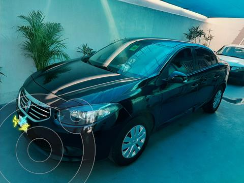 Renault Fluence Authentique  usado (2013) color Negro precio $92,000