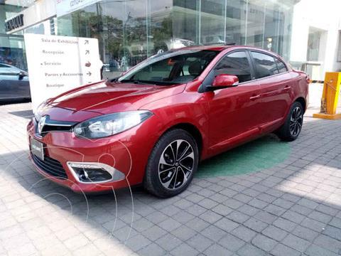 Renault Fluence Privilege CVT usado (2017) color Rojo precio $205,000