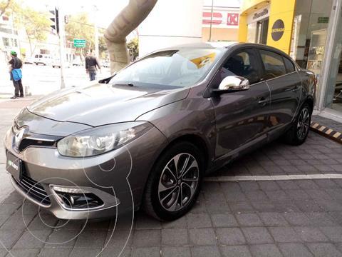 Renault Fluence Privilege CVT usado (2015) color Gris precio $165,000