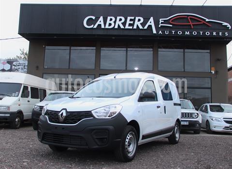 Renault Kangoo Confort 1.6 5 A Cd Ca Da S /vidrio Tras. 2 Plc usado (2020) color Blanco precio $1.750.000