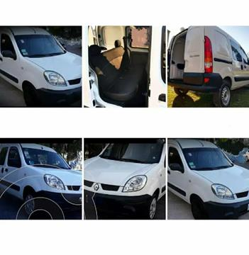 Renault Kangoo 2 Break 1.6 Authentique 1P usado (2011) color Blanco precio $750.000