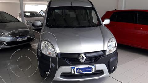 Renault Kangoo 2 Break 1.6 Sportway usado (2016) color Gris Acero financiado en cuotas(anticipo $780.000)