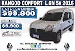 Foto venta Auto usado Renault Kangoo Break Confort 1.6 (2016) color Blanco precio $310.000