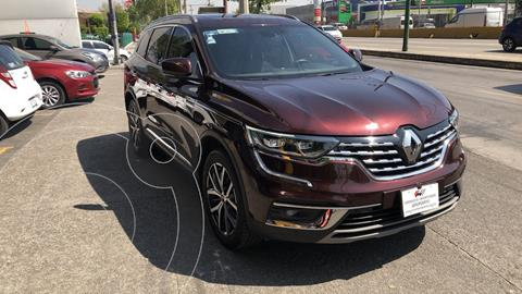 Renault Koleos 5 pts. Iconic, CVT, climatronic, piel, GPS, QC,  usado (2020) color VINO  precio $495,000