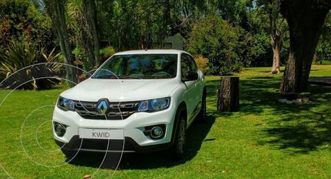 Renault Kwid Zen usado (2018) color Gris Estrella precio $1.350.000