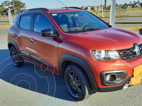 Renault Kwid Outsider usado (2019) color Rojo Fuego precio $1.350.000