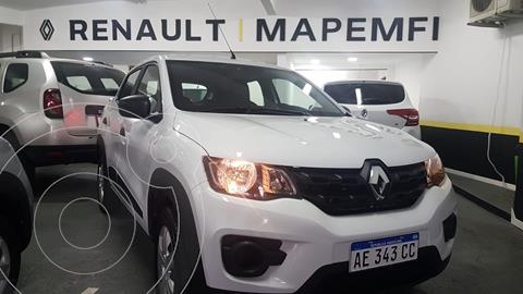 Renault Kwid Zen usado (2020) color Blanco Glaciar financiado en cuotas(anticipo $990.000 cuotas desde $18.000)