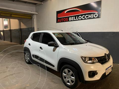 Renault Kwid Zen usado (2019) color Blanco Glaciar precio $1.050.000