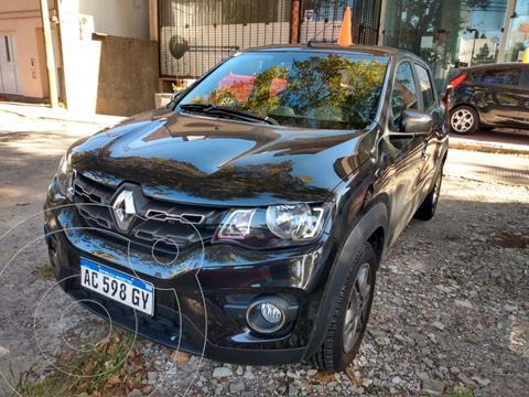 Renault Kwid Iconic usado (2018) color Negro financiado en cuotas(anticipo $840.000)