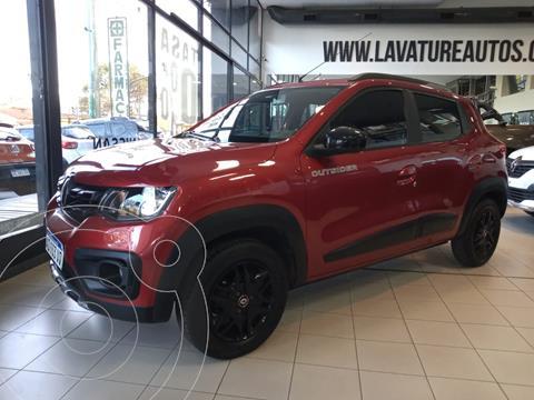 Renault Kwid Outsider usado (2018) color Bronce precio $1.995.000