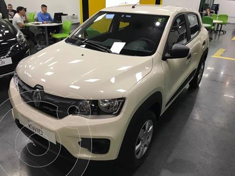 Renault Kwid Zen nuevo color Blanco Marfil financiado en cuotas(cuotas desde $18.838)