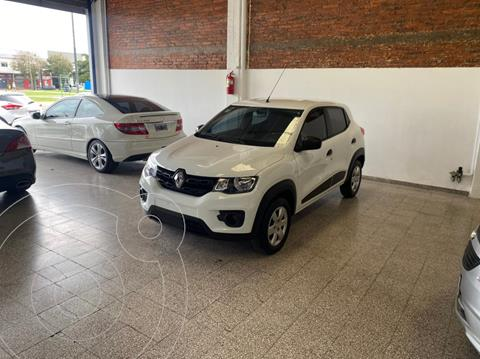 Renault Kwid Zen usado (2019) color Blanco Glaciar financiado en cuotas(anticipo $575.000)