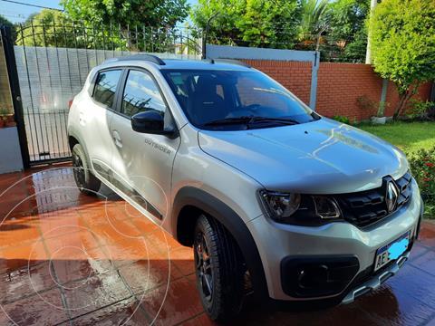 Renault Kwid Outsider usado (2021) color Gris Estrella precio $1.450.000