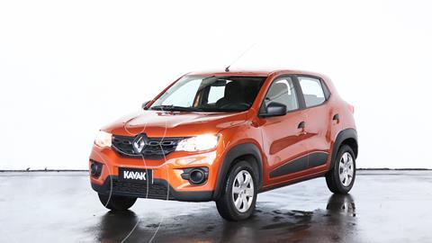 Renault Kwid Zen usado (2019) color Naranja precio $1.230.000