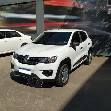 Renault Kwid Zen usado (2018) color Blanco precio $1.420.000