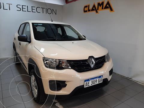Renault Kwid Zen usado (2020) color Blanco Marfil precio $1.870.000