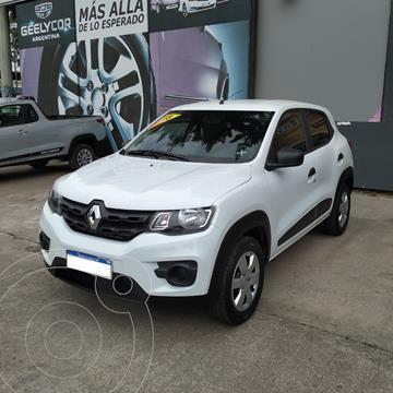 Renault Kwid Zen usado (2018) color Blanco precio $1.470.000