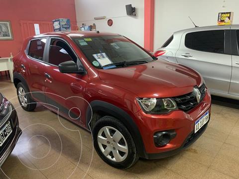 Renault Kwid Zen usado (2018) color Rojo Fuego financiado en cuotas(anticipo $550.000)