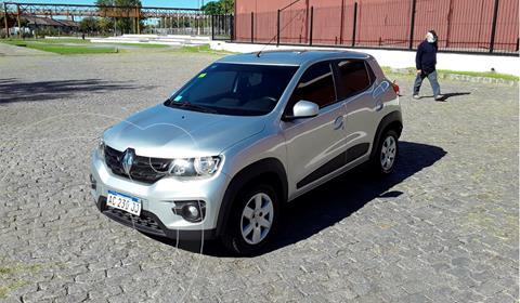Renault Kwid Intens usado (2018) color Gris precio $1.300.000