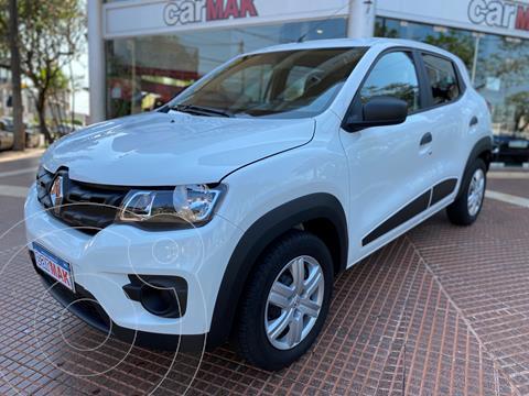 Renault Kwid Zen usado (2020) color Blanco financiado en cuotas(anticipo $1.070.000)