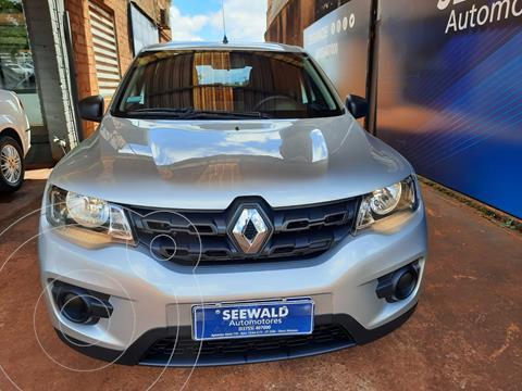 Renault Kwid 1.0 Zen usado (2018) color Gris Plata  precio $1.600.000