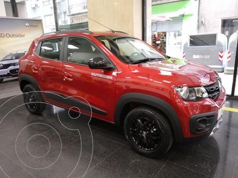 Renault Kwid Outsider nuevo color Rojo financiado en cuotas(anticipo $350.000 cuotas desde $12.500)
