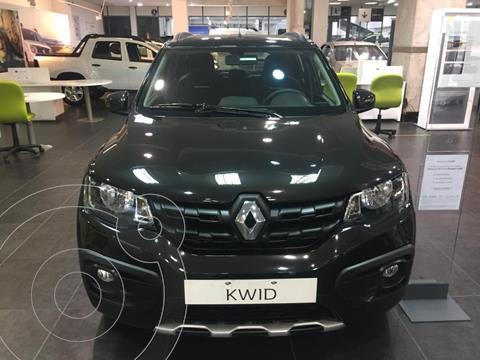 Renault Kwid Outsider nuevo color Negro Nacre financiado en cuotas(anticipo $370.000 cuotas desde $12.900)
