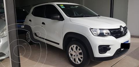 Renault Kwid Life usado (2018) color Blanco Glaciar financiado en cuotas(anticipo $654.000)