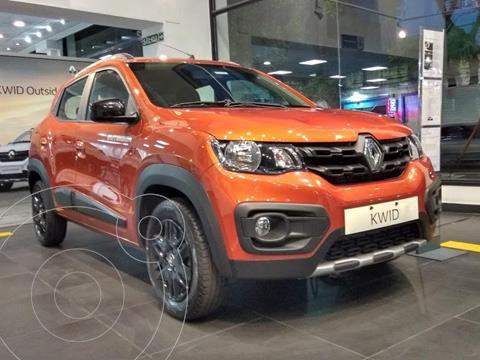 Renault Kwid Outsider nuevo color Naranja financiado en cuotas(anticipo $490.000 cuotas desde $18.838)