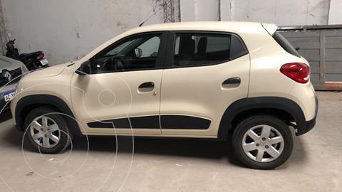 Renault Kwid Zen usado (2017) color Gris Estrella precio $1.195.000