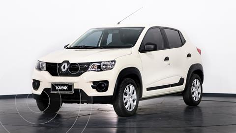 Renault Kwid Life usado (2018) color Blanco Glaciar precio $1.150.000