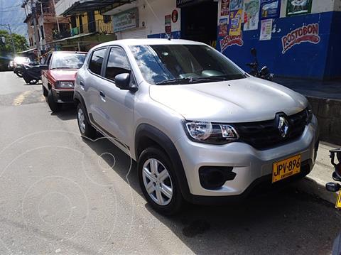 Renault Kwid Life  usado (2021) color Gris precio $35.000.000
