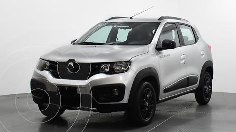 Renault Kwid Outsider usado (2019) color Plata Dorado precio $165,000