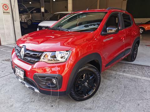 Renault Kwid Outsider usado (2020) color Rojo Fuego precio $180,000