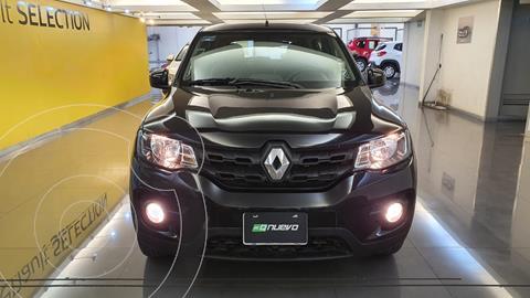 Renault Kwid Iconic usado (2020) color Negro precio $179,000