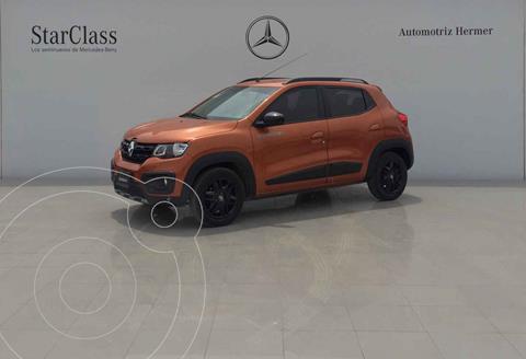 Renault Kwid Outsider usado (2019) color Naranja precio $189,900