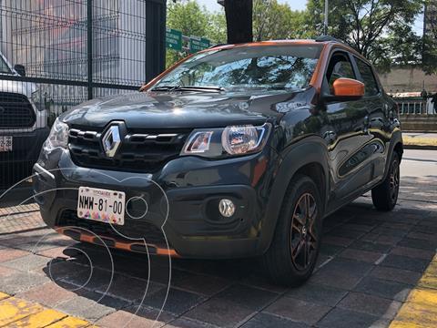 Renault Kwid Bitono usado (2019) color Negro Nacarado precio $179,000