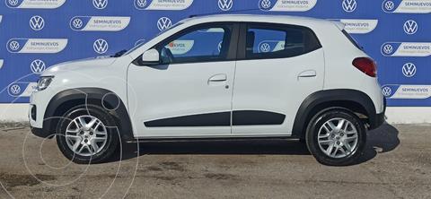 Renault Kwid ICONIC 66HP 1.0L V3 AA ABS TM usado (2020) color Blanco precio $179,000