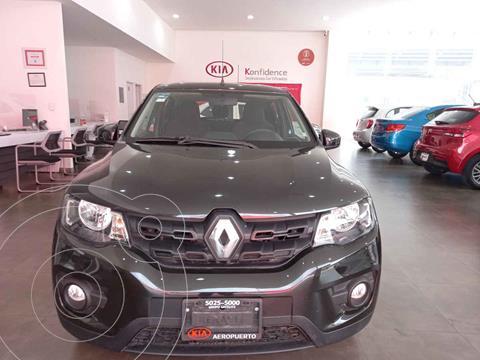 Renault Kwid Iconic usado (2020) color Negro precio $185,000