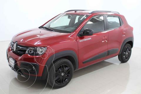 Renault Kwid Outsider usado (2020) color Rojo precio $189,000