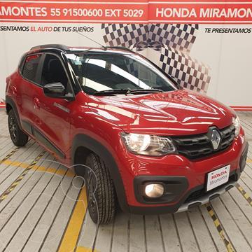 Renault Kwid Outsider usado (2019) color Rojo Fuego financiado en mensualidades(enganche $46,250 mensualidades desde $4,355)