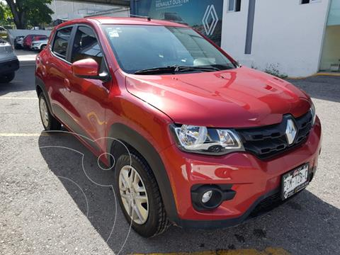 Renault Kwid 5 pts. Iconic, TM5, a/ac., f. niebla, R-14 usado (2020) color Rojo precio $184,000