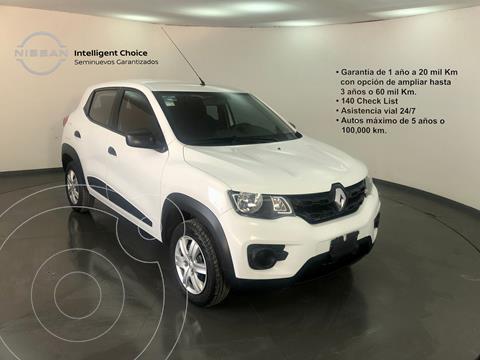 Renault Kwid Intens usado (2020) color Blanco precio $175,000