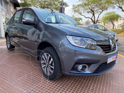 Renault Logan 1.6 Intens usado (2020) color Gris financiado en cuotas(anticipo $1.260.000)