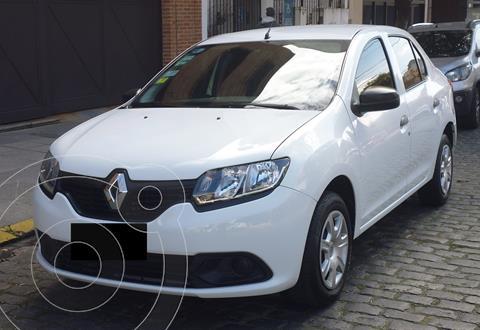 Renault Logan 1.6 Authentique Plus usado (2018) color Blanco precio $1.450.000