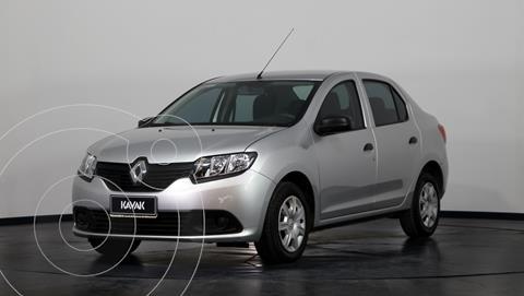 Renault Logan 1.6 Authentique Plus usado (2018) color Gris Estrella precio $1.260.000