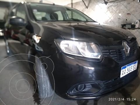 Renault Logan 1.6 Authentique usado (2016) color Negro Nacre precio $650.000