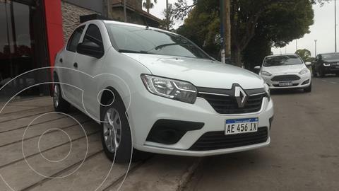 Renault Logan 1.6 Life usado (2020) color Blanco Glaciar precio $1.280.000